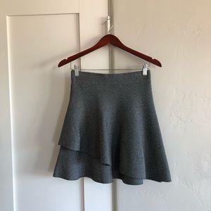 🍁 nwt | Zara | tiered circle knit skirt